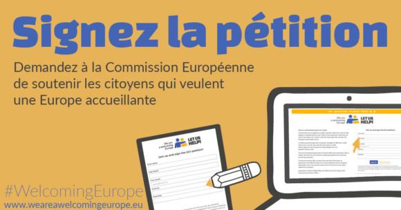 Initiative Citoyenne Européenne – «Nos valeurs sont menacées : demandons une Europe accueillante !»