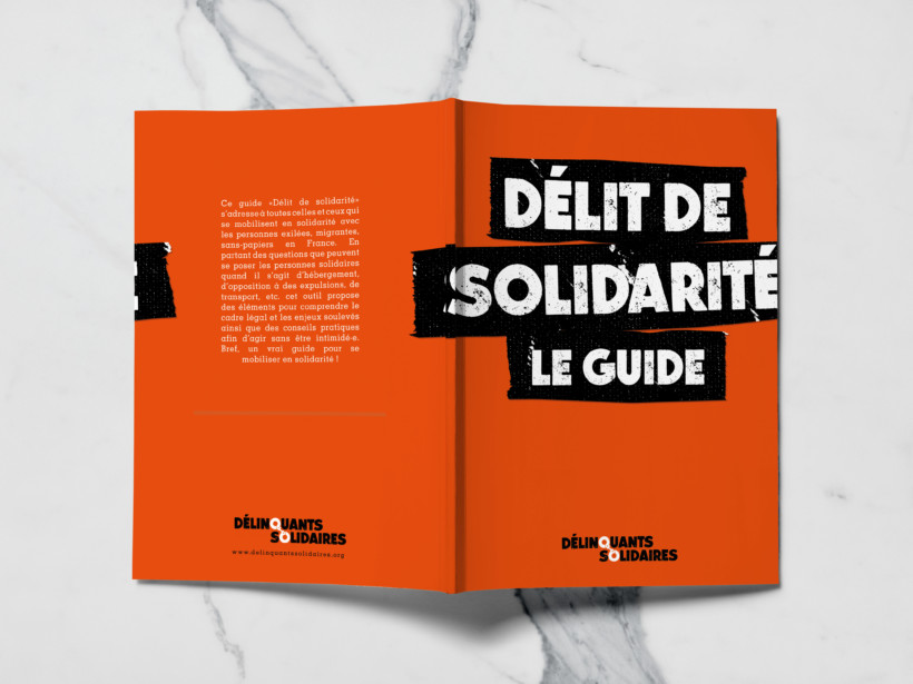 Délit de solidarité : le guide est là !